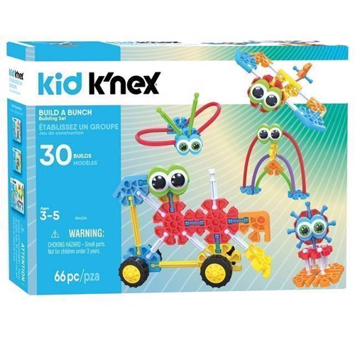 Image of Kid KNEX Building Kit - Build a Bunch (0744476854223)