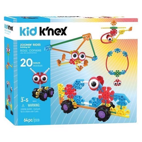 Image of Kid KNex Bbyggesæt, Zoomin Rides (0744476856166)