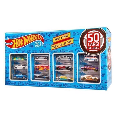 Image of Hot Wheels Gaveæske med 50 biler (0887961069280)