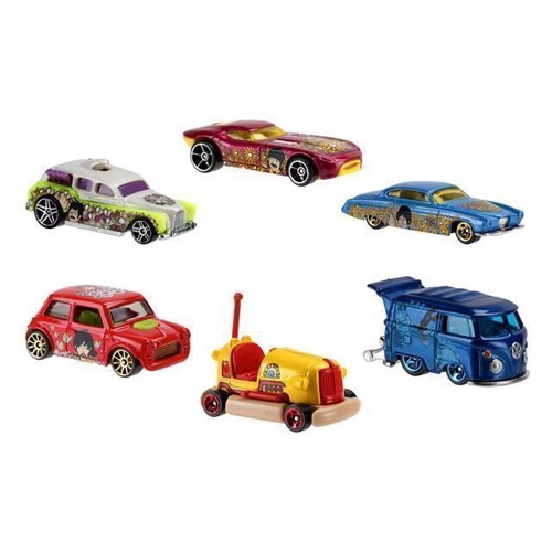 Image of   Hot Wheels The Beatles Yellow Submarine