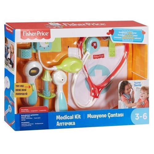 Image of Doktor Legesæt, Fisher Price (0887961369373)