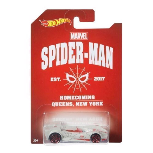 Image of   Hot Wheels Themed Car - Spiderman bil