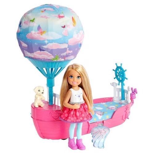Image of   Barbie Dreamtopia - Chelseas Magiske Drømmebåd