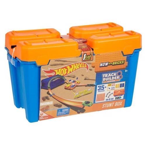 Image of Hot Wheels Stunt Track Builder Box - Basis Sæt (0887961390360)