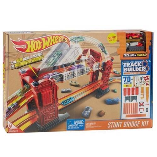 Image of Hot Wheels Track Builder Bridge Stunt Sæt (0887961390384)