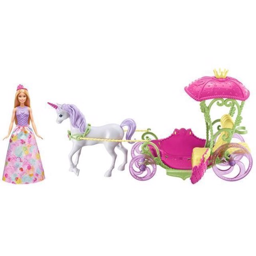 Image of   Barbie Dreamtopia - Prinsesse med karet