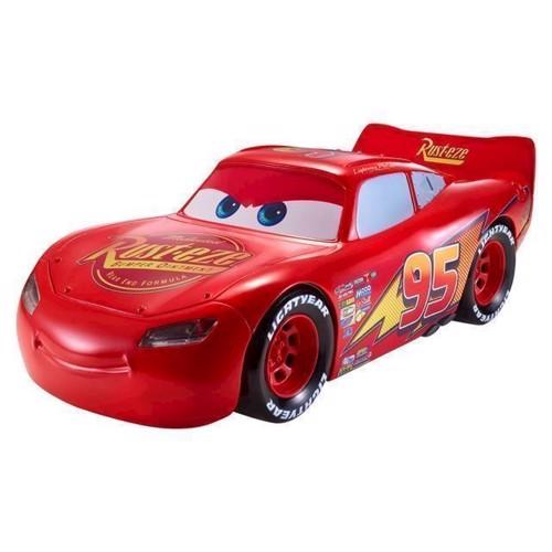 Image of   Legetøjsbil, Cars - Kørende & talende Lightning McQueen