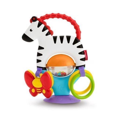 Image of Fisher Price Aktivitets Zebra (0887961505870)