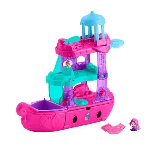 Image of   Fisher Price Shimmer & Shine, Teenie Genies båd