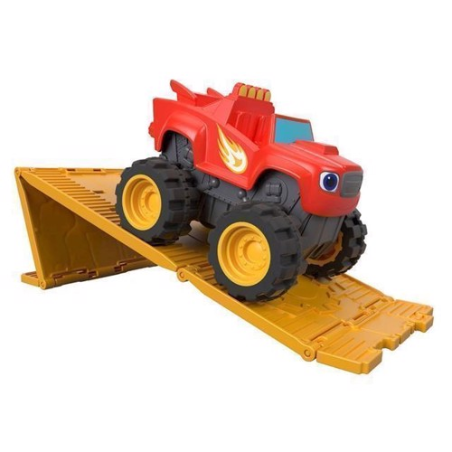 Image of Fisher Price Blaze og monstermaskinerne, Blaze med motor (0887961529197)