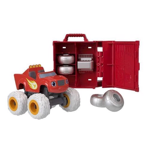 Image of Fisher Price Blaze og monstermaskinerne, blaze med service kasse (0887961529463)