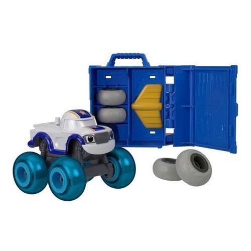 Image of Fisher Price Blaze og monstermaskinerne Daringt med service kasse (0887961529470)