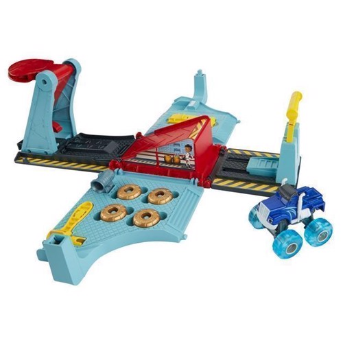 Image of Fisher Price Blaze og monstermaskinerne City Tune Jump Speed legesæt (0887961529494)