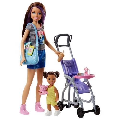 Image of Barbie Babysitter med klapvogn (0887961531480)