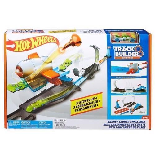 Image of Hot Wheels Track Builder - Blast Off Challenge bilbane (0887961560954)