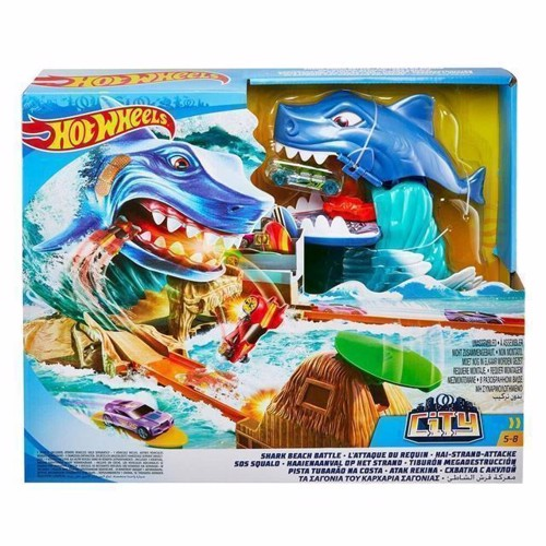 Image of   Hot Wheels Shark Attack Launcher