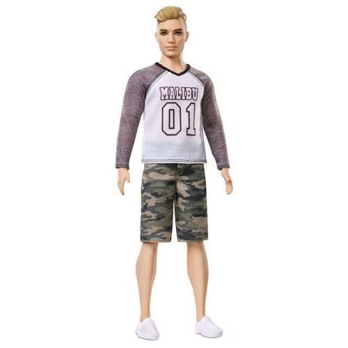 Image of   Barbie dukke - Ken Fashionistas - Camo