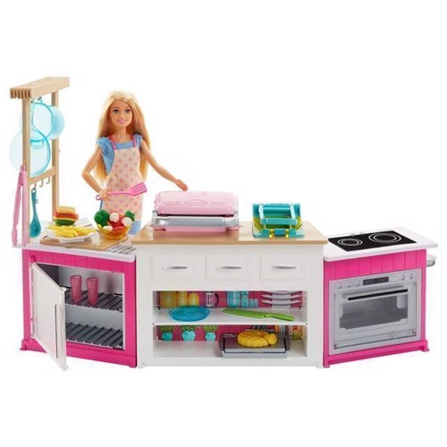 Image of   Barbie, Barbies ultimative køkken