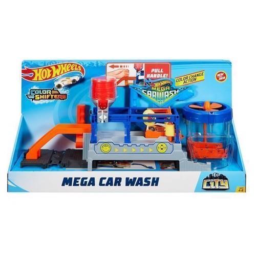 Image of Hot Wheels Ultimate Series, Mega Car Wash (0887961639889)