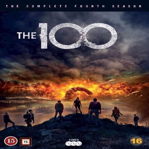 Image of 100, The Sæson 4 DVD (7340112738693)