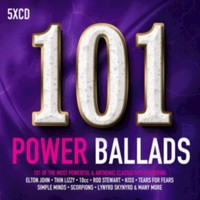 101 power ballads CD