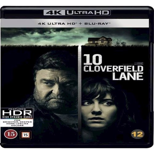 Image of 10 Cloverfield Lane 4K BluRay (7340112742638)