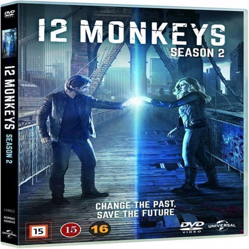 Image of 11 Monkeys Sæson 2 DVD (5053083095109)