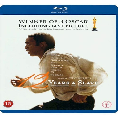 Image of 12 Years A Slave - Blu-Ray (5704028221779)