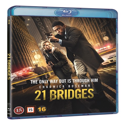 Image of   21 Bridges - Blu-Ray