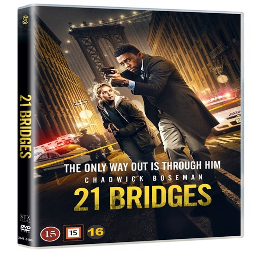 Image of 21 Bridges - DVD (5706169003009)
