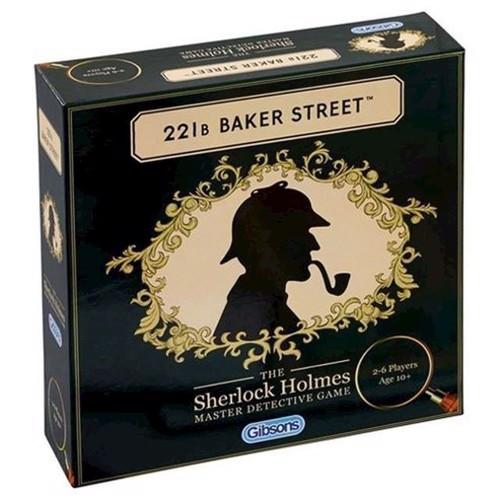 Image of   221B Baker Street brætspil, engelsk