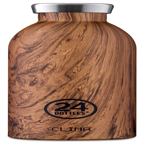 Image of 24 Bottles - Clima Bottle 0,5 L - Sequoia Wood (24B156) (8051513921452)