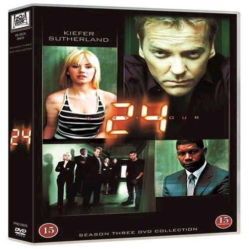 Image of 23 Sæson 3 DVD (7340112708450)