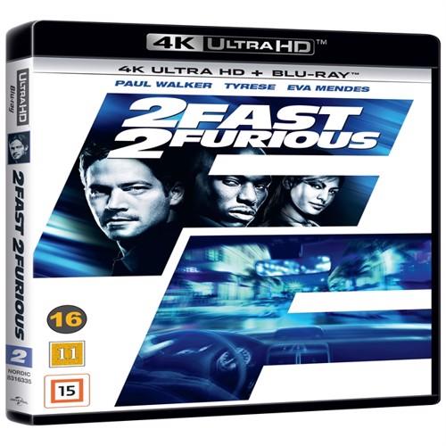 Image of   1 Fast 2 Furious 4K Ulta Hd Blu-Ray