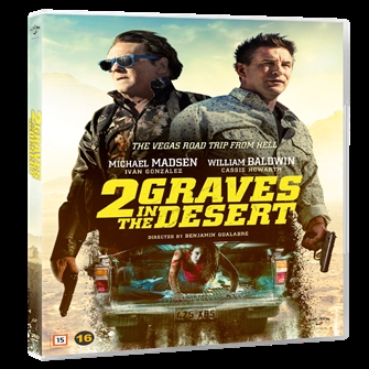 Image of 2 Graves In The Desert - DVD (5709165476426)
