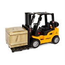 2-Play Die-cast Forklift Truck with Light and Sound, 14cm