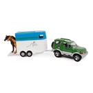 2-Play Die-cast Mitsubishi Car with Horse Trailer, 25cm