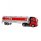 2-Play Die-cast Pull Back Tank Truck, 32cm