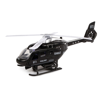 Image of 2-Play Helikopter USA med lys og lyd (8713219374030)