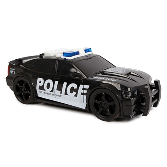 Image of   2-Play Police car USA with Light and Sound 18.5 cm