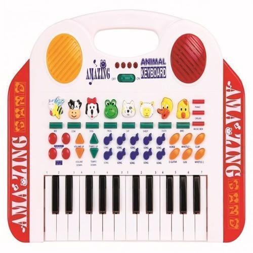 Image of   Keyboard med dyrelyde