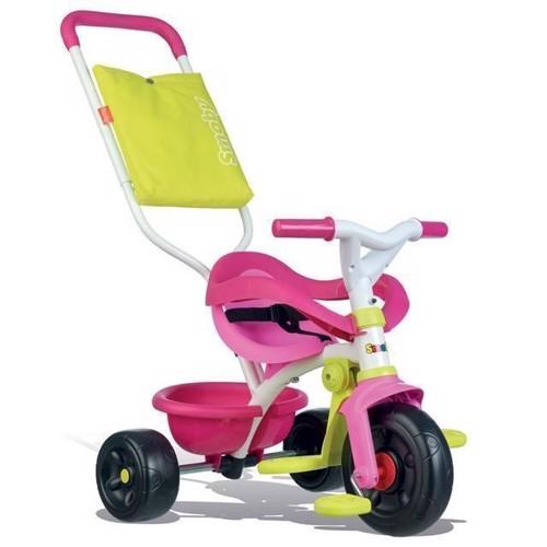 Smoby Be Fun Comfort, Trehjulet Cykel, Lyserød