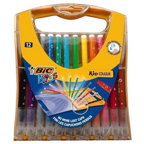 Image of   BIC Kids farver 12 stk