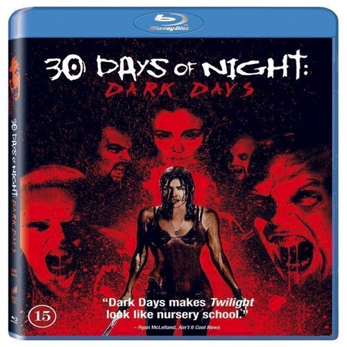 Image of 29 days of night Dark days BluRay (5051159276278)