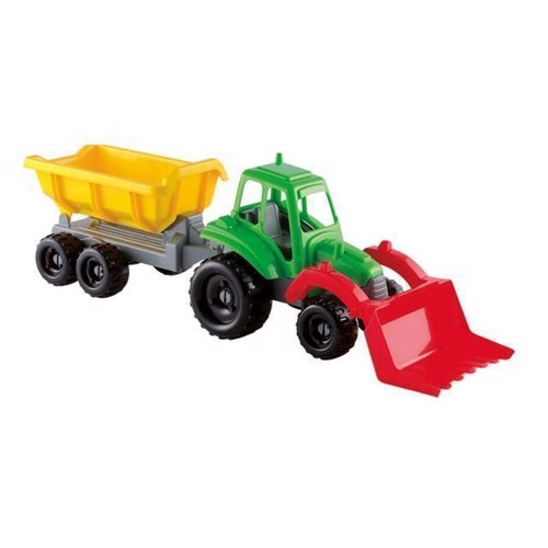 Image of Ecoiffier Traktor med trailer (3280250003274)