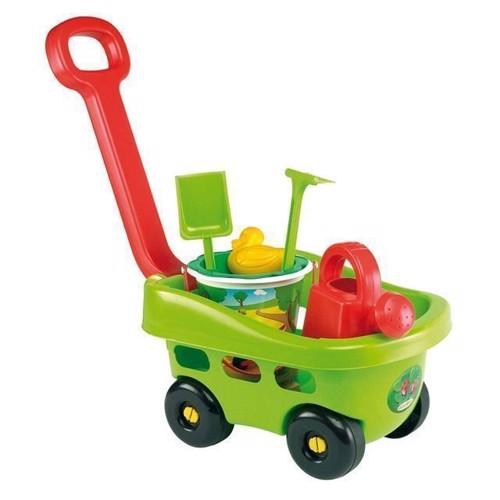 Image of   Ecoiffier trækvogn med sandsæt