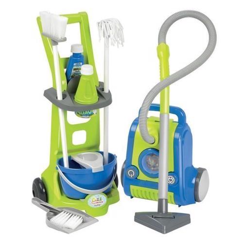 Image of Ecoiffier Clean Home, rengørings udstyr med støvsuger (3280250017707)