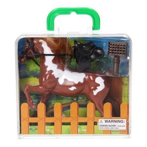 Image of   Legesæt med hest og tilbehør