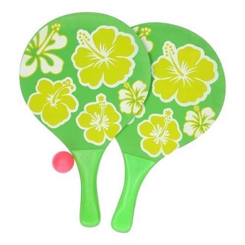 Image of Strand tennis sæt Blomster (3800966005159)