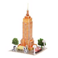 3D Puslespil Empire State Building